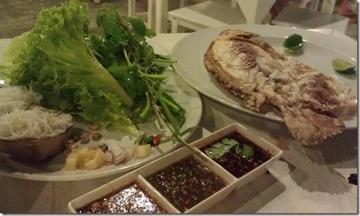 Самая вкусная рыба в Таиланде;)